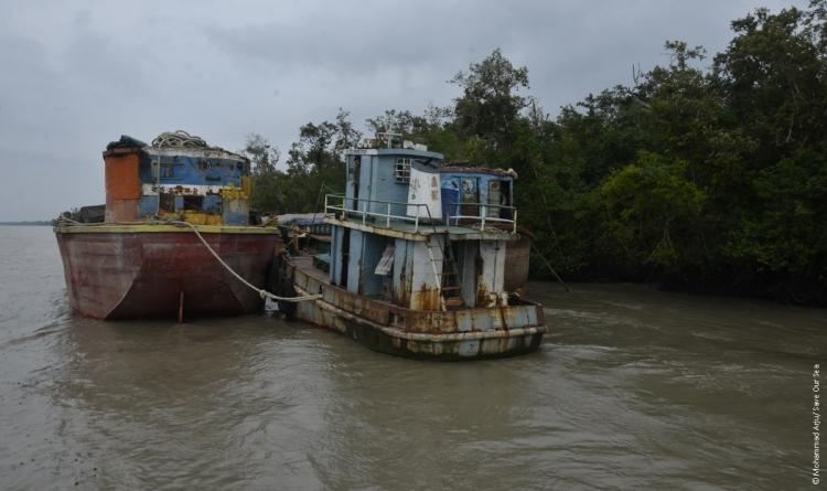 Shipping in Sundarban