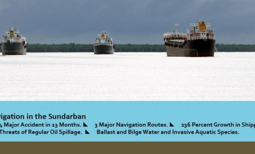 Environmental management of shipping and navigation in the world's largest mangrove forest