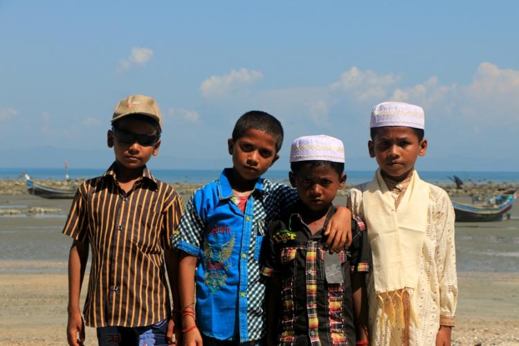 Children at Saint Martins